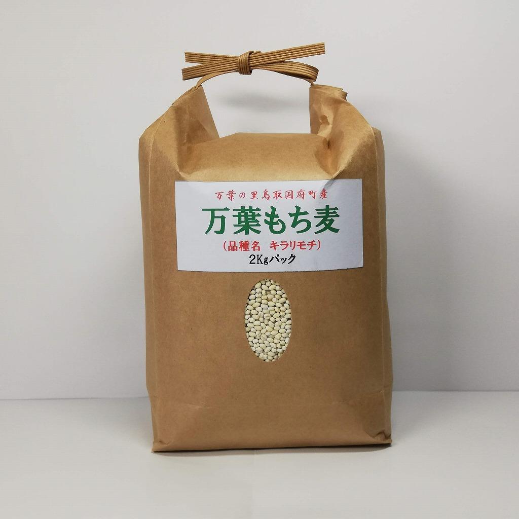 664 万葉の里鳥取市国府町産「万葉もち麦」
