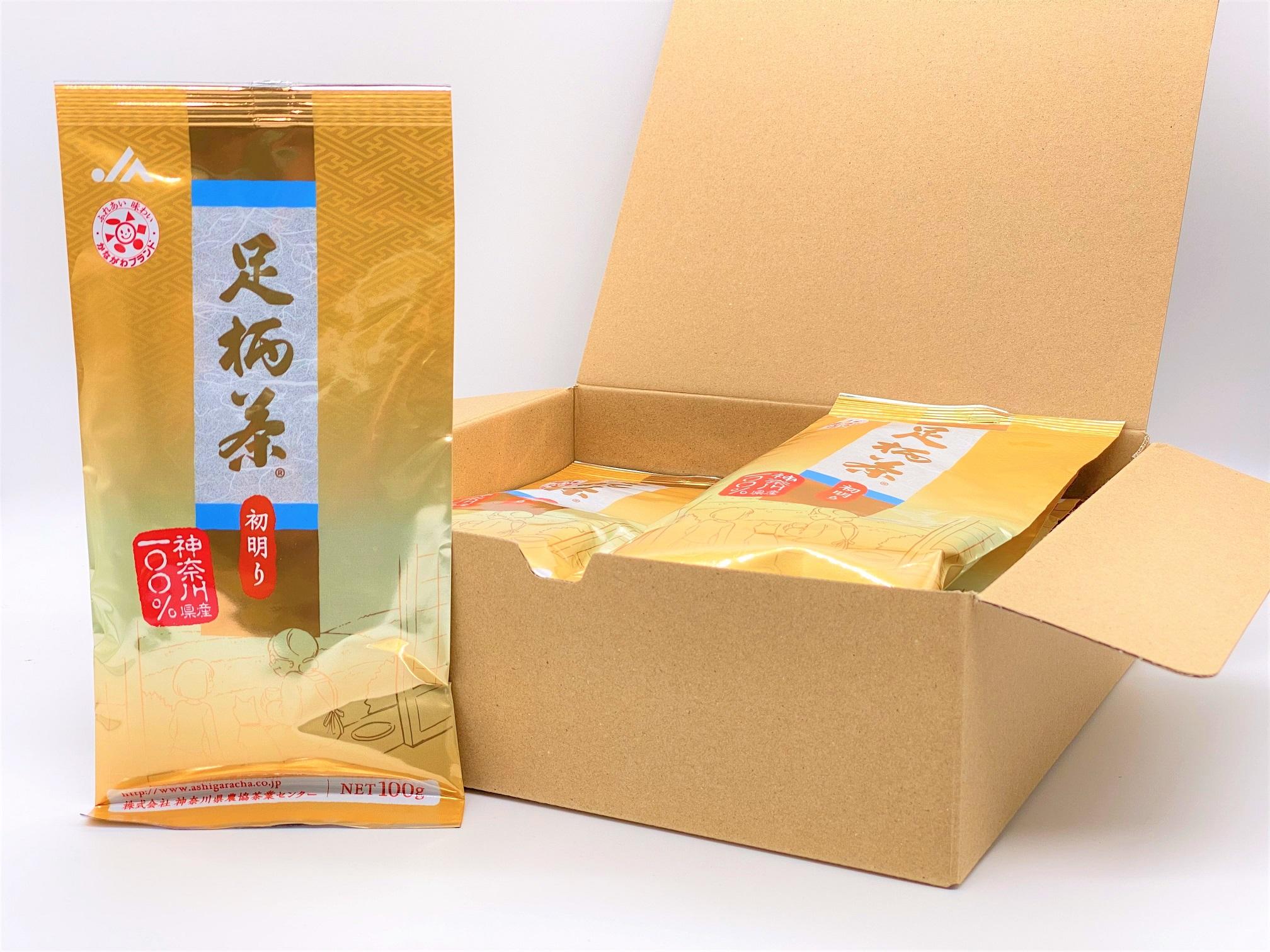 足柄茶【上級】初明り1kg(100g×10本)