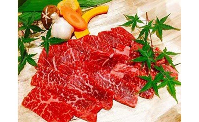 黒毛和牛 近江牛 【上霜】 モモ BBQ焼肉用 【300g】 【BM04SM】