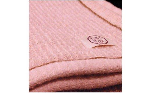 Y6216_綿ウールブランケット(ピンク)