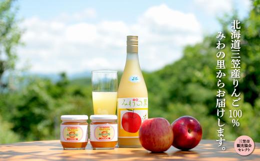 伊藤果樹園ギフトセット/りんごジュース710ml、りんごジャム2個【01125】