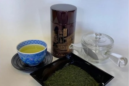 K1495 蔵出しさしま茶と割れない透明急須セット