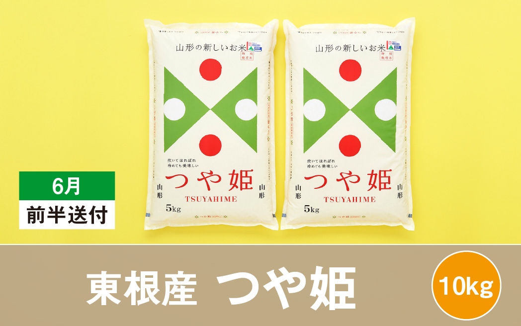 特別栽培米つや姫10kg(2022年6月前半送付)丸屋本店提供 11年連続特A 2021年産 令和3年産 山形県産 精米 白米 5kg×2袋 M-1715