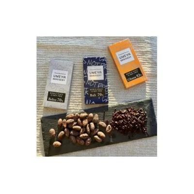 Bean to BAR 産地別カカオ豆のチョコレート3種食べ比べ_PA0124