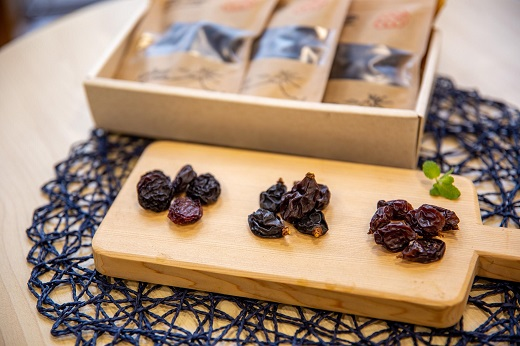 果実の楽園 やまなしからの贈り物:フルーツサプリメント「葡萄三昧」(3品種)