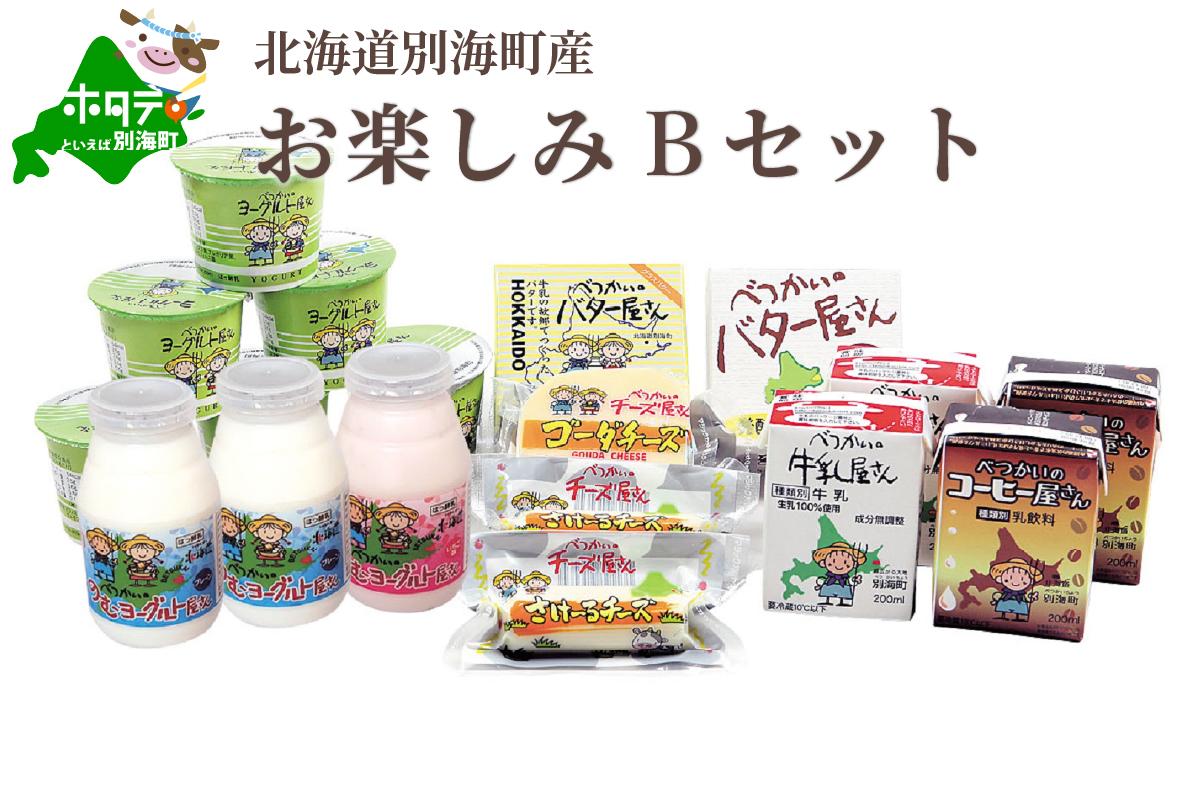 <北海道別海町産>べつかいの乳製品 プレミアムバラエティセット B