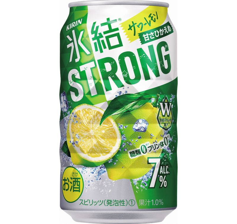 キリン 氷結ストロング サワーレモン 350ml 1ケース(24本)