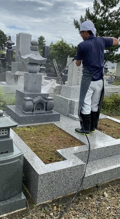 お墓参り・お掃除代行プロのお掃除プラン(清川・立谷沢地区)