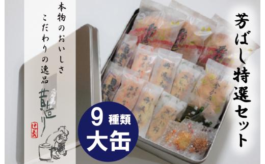 099H167 【ふるさと納税限定商品】芳ばし特選セット大缶