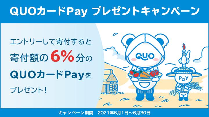 QUOカードPay プレゼントキャンペーン