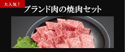 ブランド肉の焼肉セット